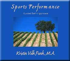 Sports Performance Hypnosis CD